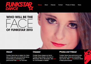 Funkstar Dance Website